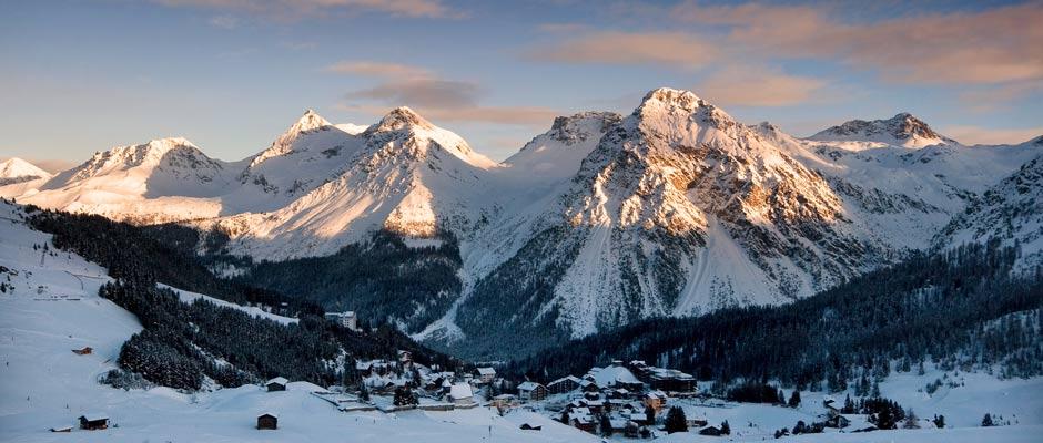 Skiing Holiday Switzerland